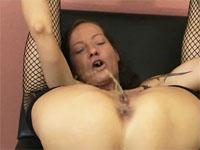 a bizarre orgasm