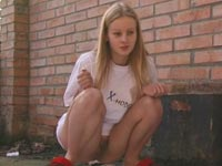 lief tiener meisje